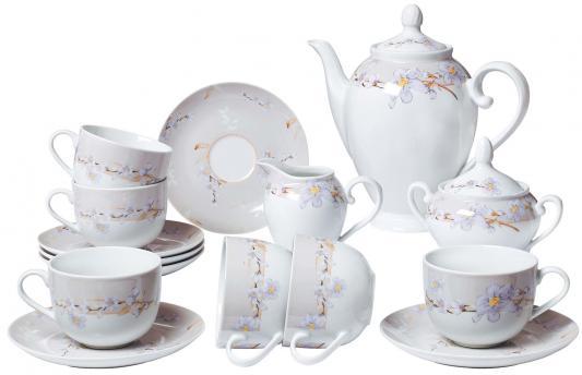 Сервиз чайный Bekker BK-7146 15 предметов 6 персон colombo чайный сервиз из 15 предметов на 6 персон флёр c2 ts 15 3701al