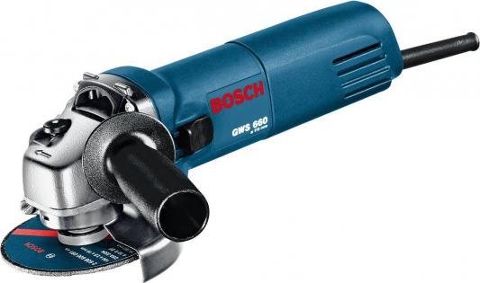 Угловая шлифмашина Bosch GWS 660 660Вт 115мм угловая шлифовальная машина bosch gws 26 230h 0601856100