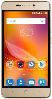 Смартфон ZTE Blade X3 4G Gold золотистый с двумя сим-картами
