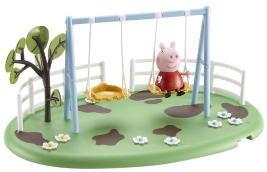 Игровой набор Peppa Pig Игровая площадка: Качели Пеппы от 3 лет 28776 игровой набор peppa pig игровая площадка горка пеппы 28774