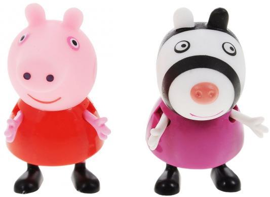 Купить Игровой набор Peppa Pig Пеппа и Зои от 3 лет 2 предмета 28814, унисекс, Машинки и фигурки