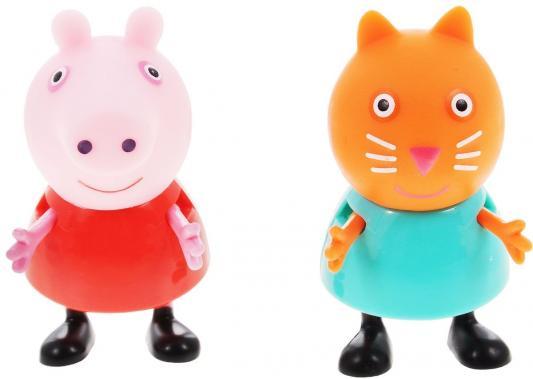 Фото - Игровой набор Peppa Pig Пеппа и Кенди от 3 лет 2 предмета 28818 игровой набор peppa pig пеппа и сьюзи 2 предмета 28816