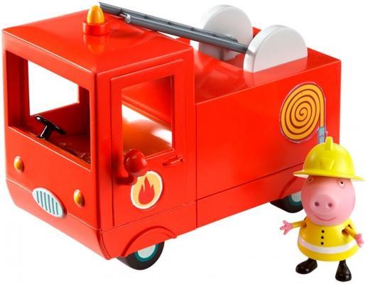 Игровой набор Peppa Pig Пожарная машина Пеппы 2 предмета 29371 игровой набор peppa pig игровой набор машина пеппы