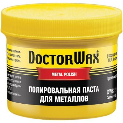 Полировальная паста Doctor Wax DW 8319 реставратор покрышек doctor wax dw 5343
