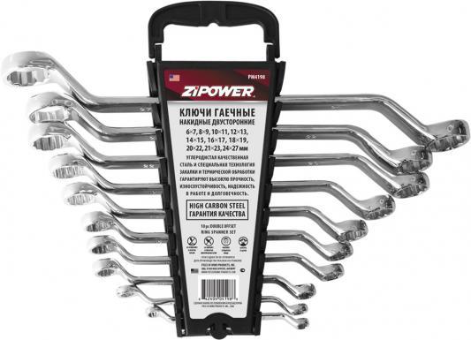 Набор гаечных ключей ZIPOWER PM 4198 10шт набор ключей комбинированных zipower pm 5154