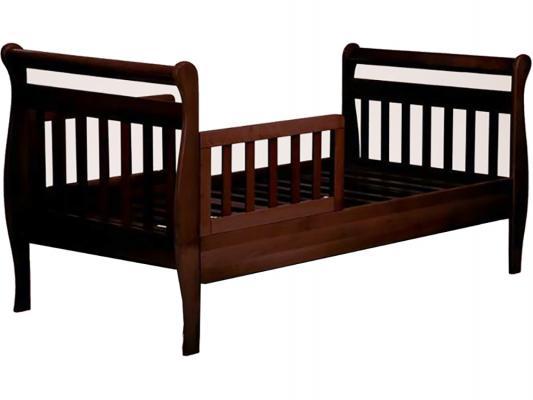 Кровать подростковая Лель Юнона БИ04 (махагон)