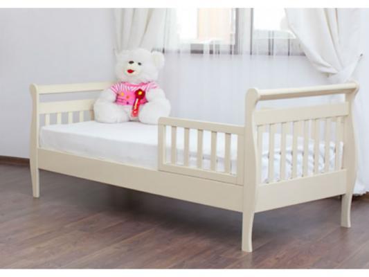 Кровать подростковая без ограждений Лель Юнона БИ04 (слоновая кость)