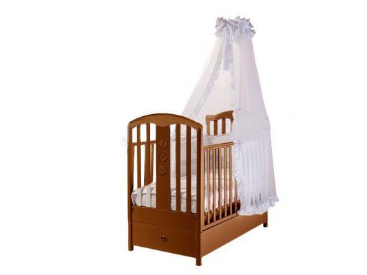 Кроватка с маятником Feretti FMS Elegance (noce)