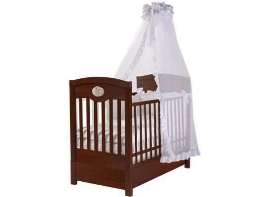 Кроватка с маятником Feretti FMS Enchant (noce scuro) кроватка с маятником feretti fms elite avorio