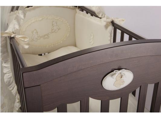 Кроватка с маятником Feretti FMS Enchant (noce scuro)
