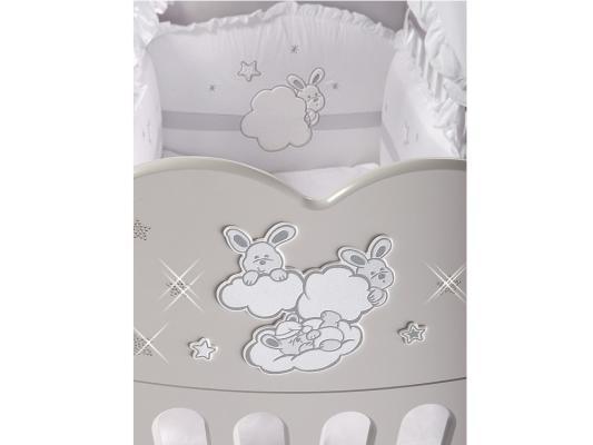 Кроватка с маятником Feretti FMS Etoile (bianco)