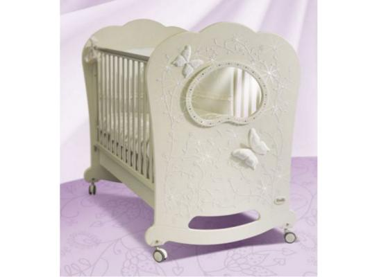 Кроватка-качалка Feretti Oblo Majesty Brillante (avorio)