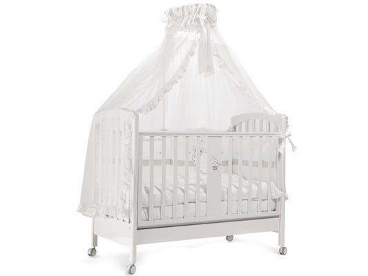 Кроватка с маятником Feretti Ricordo (bianco) кроватка с маятником feretti fms elite avorio