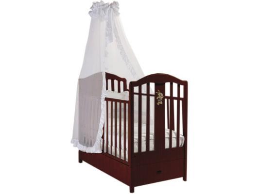 Кроватка с маятником Feretti FMS Ricordo (noce) кроватка с маятником feretti fms ricordo avorio