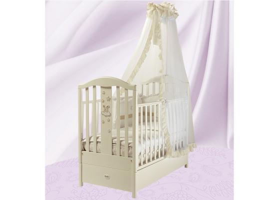 Кроватка с маятником Feretti FMS Romance (avorio)