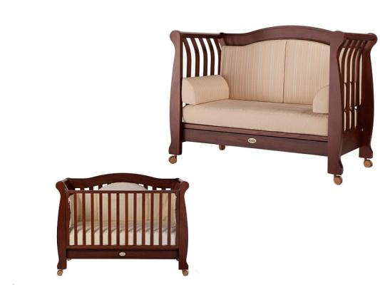 Кроватка-диван Feretti FMS Royal (noce scuro)