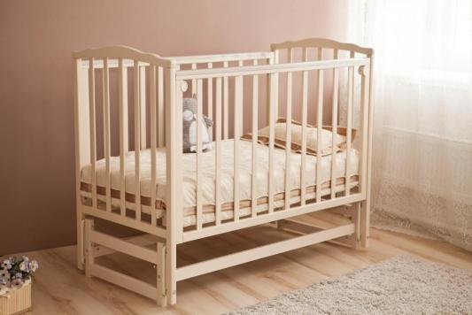 Кроватка с маятником Красная Звезда Кристина С619 (слоновая кость)