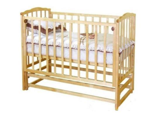 Кроватка с маятником Красная Звезда Кристина С619 (медовый)