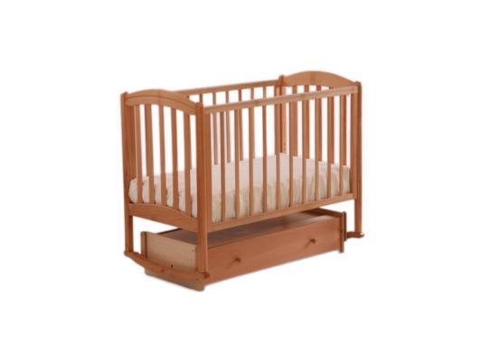 Кроватка с маятником Лель Василёк БИ09.2 (махагон)
