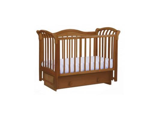 Кроватка с маятником Лель Азалия БИ10.2 (орех)