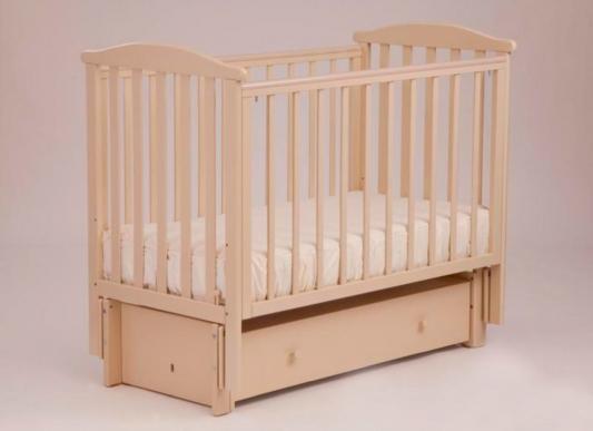 Кроватка с маятником Лель Лютик АБ15.3 (слоновая кость) кроватка с маятником sweet baby eligio avorio слоновая кость