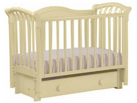 Кроватка с маятником Лель Азалия БИ10.3 (слоновая кость) кроватка с маятником sweet baby eligio avorio слоновая кость