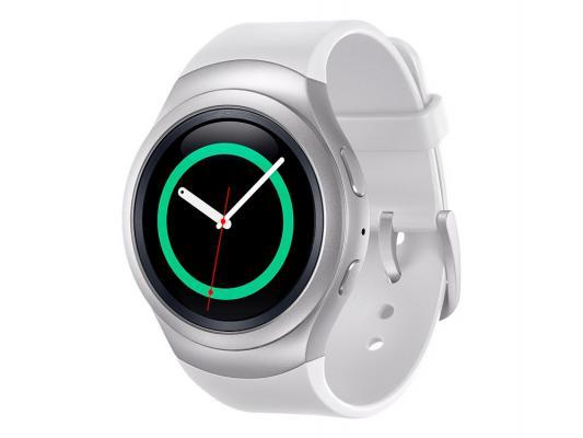 Смарт-часы Samsung Galaxy Gear S2 SM-R7200 серебристый белый SM-R7200ZWASER