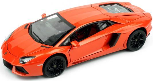 цены Автомобиль Rastar Lamborghini Aventador LP700 1:18 красный 61300
