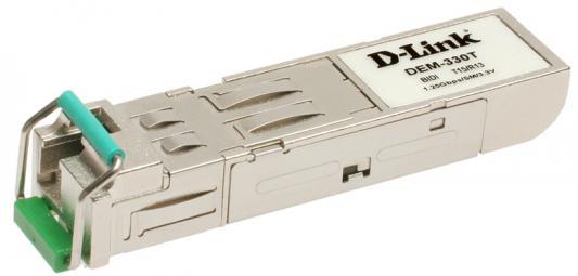 Трансивер сетевой D-Link DEM-330T/10/B2A 1 порт mini-GBIC 1000Base-LX