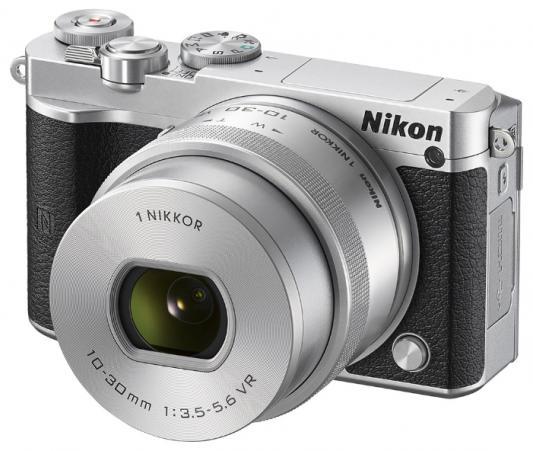 Фотоаппарат Nikon 1 J5 Silver + 10-30 PD Zoom 23Mp  3 1080P WiFi ultimate pd 9544b silver alu