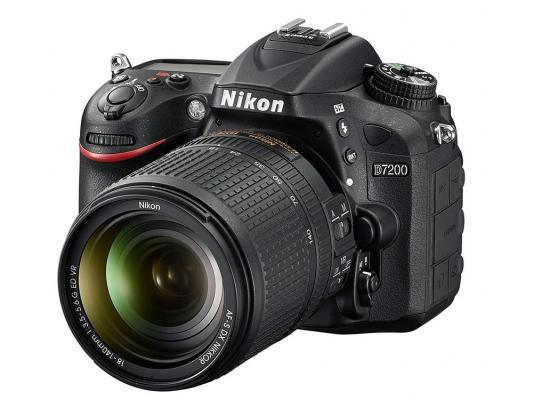 цена на Зеркальная фотокамера Nikon D7200 KIT AF-S DX 18-140 VR 24.2Mp VBA450KR01