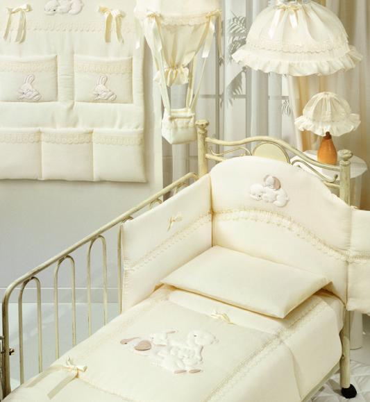 Постельный сет Italbaby Cuccioli (бежевый/100,0062-) italbaby сумка переноска для новорожденного italbaby cuccioli