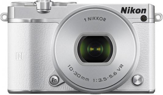 """Фотоаппарат Nikon 1 J5 White + 10-30 PD Zoom 23Mp  3"""" 1080P WiFi"""