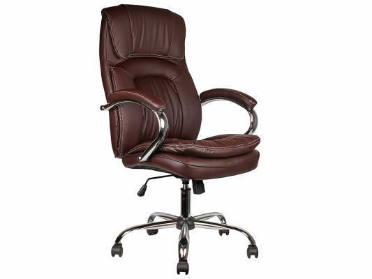 Кресло руководителя College BX-3001-1 экокожа коричневый
