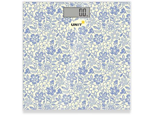 Весы напольные Unit UBS-2051 серый рисунок весы напольные unit ubs 2053 серый рисунок