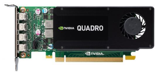 Видеокарта 4096Mb PNY Quadro K1200 PCI-E 4xminiDP DVI VCQK1200DVI-PB Retail