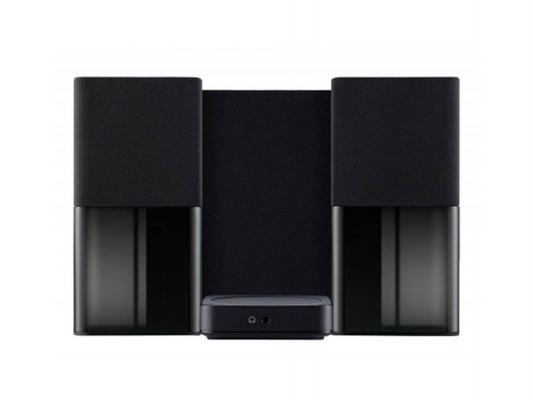 Колонки Dell AC411 2x6.5+20 Вт черный 520-AAEU