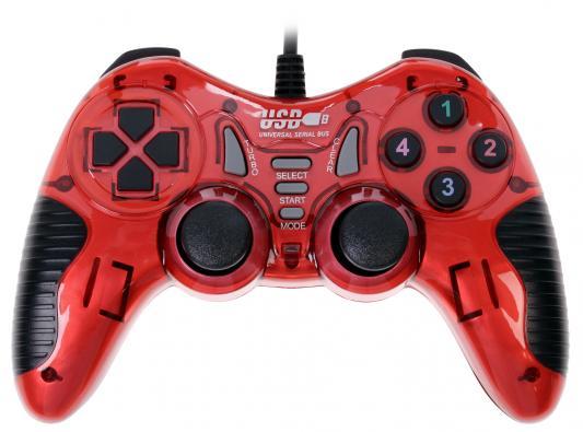 Геймпад 3Cott Single GP-06 красный USB