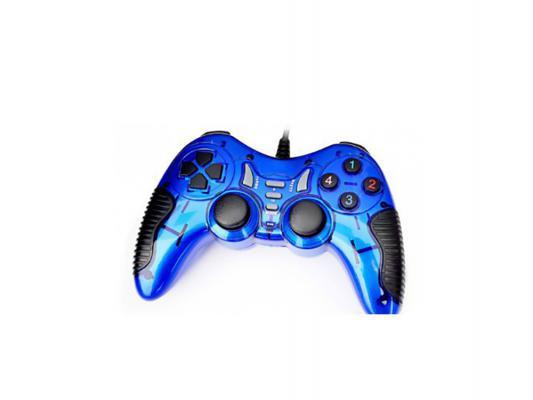 Геймпад 3Cott Single GP-06BL синий USB