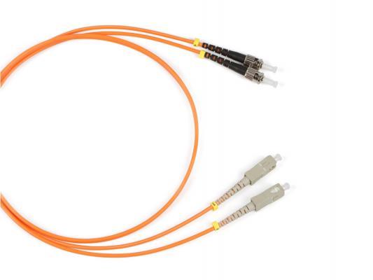 Патч-корд Hyperline FC-9-ST-SC-UPC-1M волоконно-оптический шнур 1м