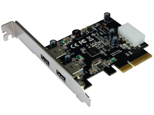 Контроллер PCI-E ST-Lab U-1130 2 ext USB 3.1 контроллер pci e 2 com купить минск