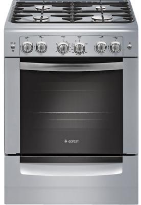Газовая плита Gefest ПГ 6100-02 0068 серый цена