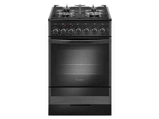 Комбинированная плита Gefest ПГЭ 5502-02 0044 черный  газовая плита gefest пгэ 5502 02 0044 электрическая духовка черный