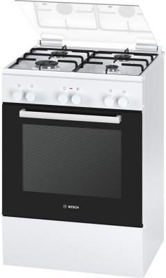 Комбинированная плита Bosch HGD425120R серебристый цена 2017