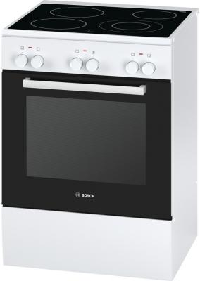 Электрическая плита Bosch HCA623120R белый