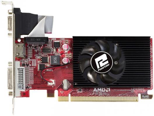 Видеокарта 1024Mb PowerColor Radeon R5 230 PCI-E DVI HDMI HDCP AXR5 230 1GBK3-LHE OEM
