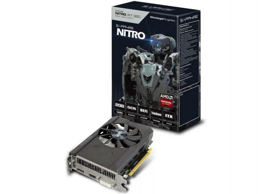 Видеокарта 2048Mb Sapphire R7 360 Nitro OC PCI-E 128bit GDDR5 DVI HDMI DP HDCP 11243-05-20G Retail