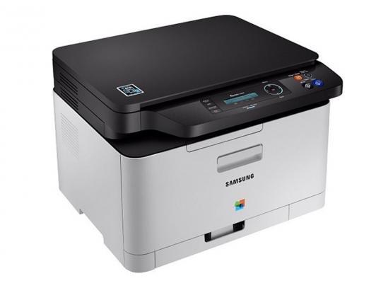 МФУ Samsung SL-C480W цветное А4 18ppm 600x600dpi Ethernet USB мфу samsung sl c480w