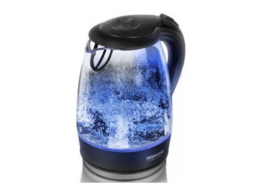 Чайник Redmond RK-G161 2200 Вт чёрный прозрачный 1.7 л пластик/стекло
