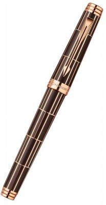 цены Ручка-роллер Parker Premier Luxury T565 черный F 1876378